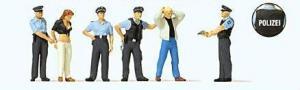 Сет задержание полицейскими.Фирма PREISER 10589.Масштаб НО (1:87).