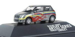 Модель Suzuki Swift Artist Series.Фирма RIETZE.Арт.31321.Масштаб НО (1:87).
