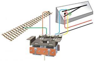 Двойной Micro Switch аксессуар.PECO Арт.PL-15.Масштаб НО (1:87).