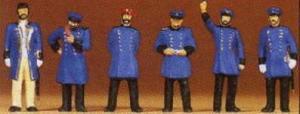 Сет железнодорожный персонал Пруссии 1900года.Фирма PREISER 12130.Масштаб (1:87).