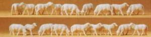 Сет фигурок стадо овец.Фирма PREISER.Арт.14161.Масштаб НО (1:87).