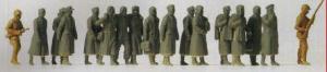 Сет немецких военнопленных.Фирма PREISER.Арт.16578.Масштаб НО (1:87).