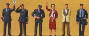 Сет поездная бригада ДВ.Фирма PREISER.Арт.10237.Масштаб НО (1:87).
