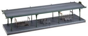 Перроны для вокзала или средней/большой станции.Производство FALLER.Арт.120181.Масштаб НО (1:87).