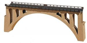 Каменный арочный мост.Производства FALLER.Арт.120533.Масштаб НО (1:87).