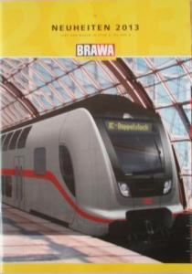 Каталог новинок 2013года фирмы BRAWA.Масштаб НО(1:87),N(1:160) и др.масштабы.