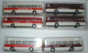 Декали белые на автобусы Икарус серий 250 и 255.Масштаб НО (1:87).