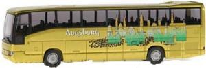 Модель автобуса Mercedes-Benz O404 Augsburg.Фирма RIETZE.Арт.62063.Масштаб НО (1:87).