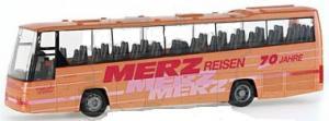 Модель автобуса VOLVO B12-600 Merz-Reisen,Gnadenberg.Фирма RIETZE.Арт.61612.Масштаб НО (1:87).
