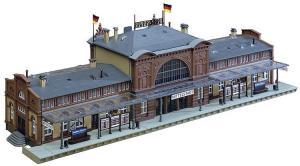 Модель ж/д вокзала Mittelstadt.Производство FALLER.Арт.110115.Масштаб НО (1:87).