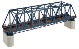 Модель металлического ж/д моста.Пр-во FALLER.Арт.120560.Масштаб НО (1:87).