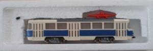 Стендовая собранная (немоторная) модель трамвая TATRA T3.Производство HERRMANN @ PARTNER.Масштаб НО (1:87).
