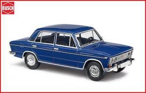 Модель Lada 1500 (WAS 2103) Blau CMD.Фирма BUSCH.Арт.50501.Масштаб НО (1:87).