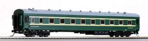 Модель купейного вагона аналога ЦМВ.Пр-во BACHMANN CHINA.Арт.CP01315.Масштаб НО (1:87).