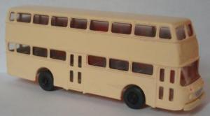 Модель автобуса DD-Bus Praefekt 25.Пр-во фирма S.E.S.Масштаб НО (1:87).