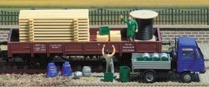 Модель набора различных грузов.Пр-во BUSCH.Арт.1132.Масштаб НО (1:87).