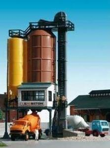 Модель небольшого бетонного завода.Пр-во KIBRI.Арт.39804.Масштаб НО (1:87).