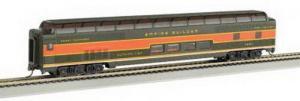 Модель 2-х этажного пассажирского вагона.Пр-во BACHMANN USA.Арт.13011.Масштаб НО (1:87).