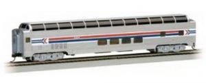 Модель 2-х этажного пассажирского вагона.Пр-во BACHMANN USA.Арт.13005.Масштаб НО (1:87).