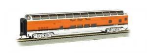 Модель 2-х этажного пассажирского вагона.Пр-во BACHMANN USA.Арт.13035.Масштаб НО (1:87).