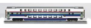 Модель 2-х этажного пассажирского вагона.Пр-во BACHMANN USA.Арт.13246.Масштаб НО (1:87).