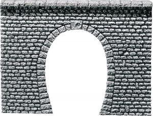 Модель однопутного туннельного портала.Производство FALLER.Арт.170880.Масштаб НО (1:87).