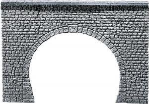 Модель двухпутного туннельного портала.Производство FALLER.Арт.170881.Масштаб НО (1:87).