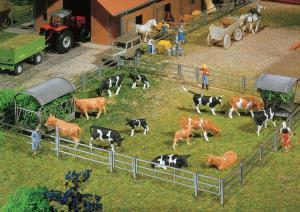 Модель заграждений для животных.Производство FALLER.Арт.130526.Масштаб НО (1:87).