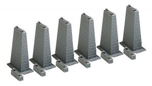 Модель опор для моста.Производство FALLER.Арт.120473.Масштаб НО (1:87).