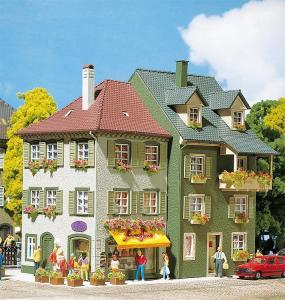 Модель 2-х городских домов.Производство FALLER.Арт.130414.Масштаб НО (1:87).