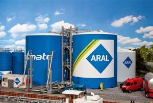 Модель нефтяных/бензиновых резервуаров компании ARAL.Производство FALLER.Арт.130485.Масштаб НО (1:87).