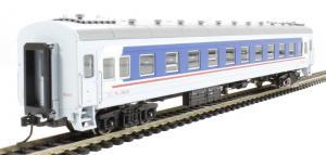 Модель пассажирского вагона типа YW22B.Пр-во BACHMANN CHINA.Арт.CP00537.Масштаб НО (1:87).
