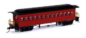 Модель 4-х осного пассажирского вагона.Пр-во BACHMANN USA.Арт.13402.Масштаб НО (1:87).
