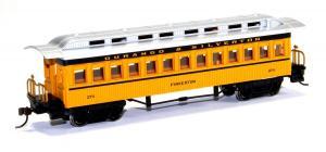 Модель 4-х осного пассажирского вагона.Пр-во BACHMANN USA.Арт.13404.Масштаб НО (1:87).