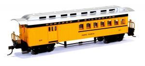 Модель 4-х осного пассажирского вагона,с почтово-багажным отделением.Пр-во BACHMANN USA.Арт.13504.Масштаб НО (1:87).