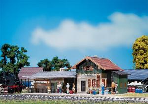 Модель небольшого станции Zindelstein.Пр-во FALLER.Арт.110092.Масштаб НО (1:87).