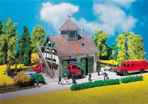 Модель сельской пожарной станции.Пр-во FALLER.Арт.130268.Масштаб НО (1:87).