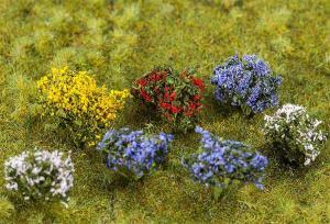Модель 14 цветущих кустов.Пр-во FALLER.Арт.181269.Масштаб НО (1:87).