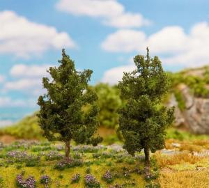 Модель 2-х деревьев елей.Пр-во FALLER.Арт.181311.Масштаб НО (1:87).
