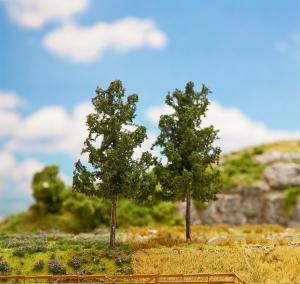 Модель 2-х деревьев елей.Пр-во FALLER.Арт.181312.Масштаб НО (1:87).
