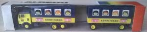 Модель грузовика МВ с 2-х осн.прицепом.Пр-во старое ALBEDO.Масштаб НО (1:87).