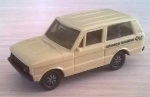 Модель автомобиля Range Rover бежевый CH.Пр-во HERPA.Масштаб НО (1:87).
