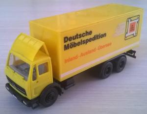 Модель 3-х осного грузовика МB.Пр-во старая HERPA.Масштаб НО (1:87).