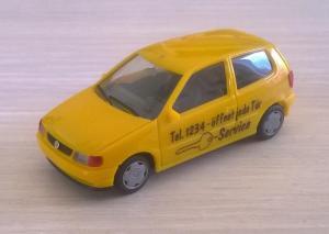 Модель автомобиля VW Polo.Пр-во HERPA.Масштаб НО (1:87).