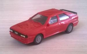 Модель автомобиля AUDI Quattro.Пр-во HERPA.Масштаб НО (1:87).