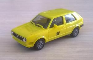 Модель автомобиля VW Golf Post.Пр-во HERPA.Масштаб НО (1:87).