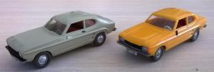 Модели автомобилей FORD Capri.Пр-во WIKING.Масштаб НО (1:87).