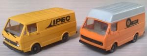 Модели микроавтобусов VW LT 28.Пр-во WIKING.Масштаб НО (1:87).