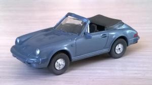Модель автомобиля PORSCHE 911 C.Пр-во WIKING.Масштаб НО (1:87).