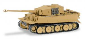 Модель Kampfwagen Tiger frühe Version,sandbeige.Пр-во MINITANKS (HERPA).Арт.745512.Масштаб 1:87 (HO).